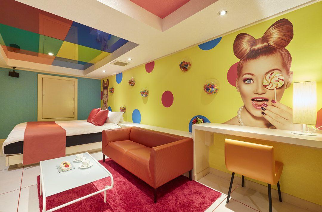 612号室の紹介写真 ホテルLOVE