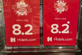 hotels.com 2021AWARD受賞( *´艸`)